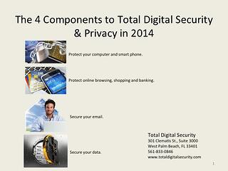 4 Components of Total Digital Security