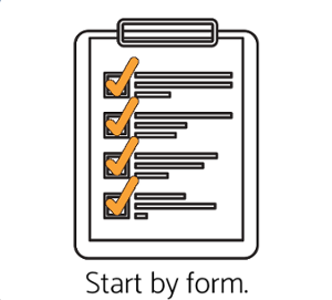 icon of clipboard checklist