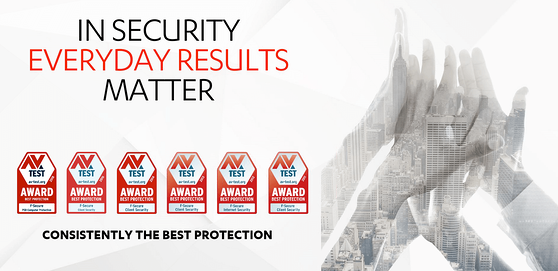 Best Performance Award for F-Secure 2018