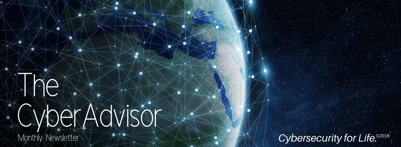 CyberAdvisor Newsletter email banner globe -3