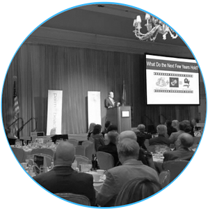 Cybersecurity Speaking Events bw blu circle-2