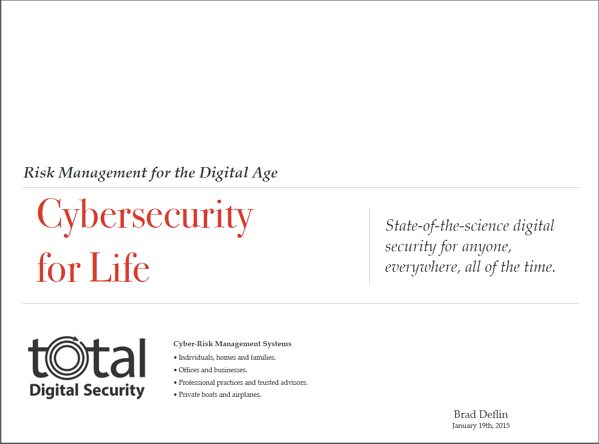 Cybersecurity for Life deck 2014-2015