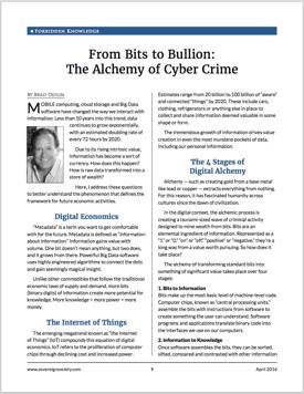 The Alchemy of Cybercrime - Brad Deflin on digital security