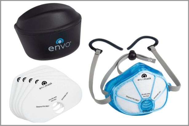 ENVO gel fask mask with filters and case