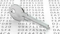 Encryption key image