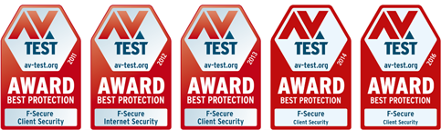 F-Secure Best 5 years