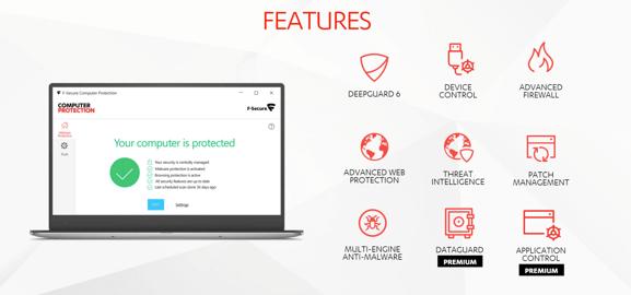 F-Secure PSB desktop app