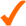 orange check mark