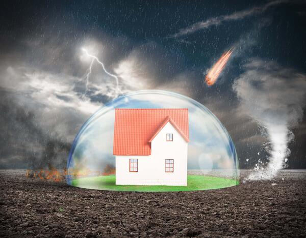home and office network security with a bubble of protection against attacks