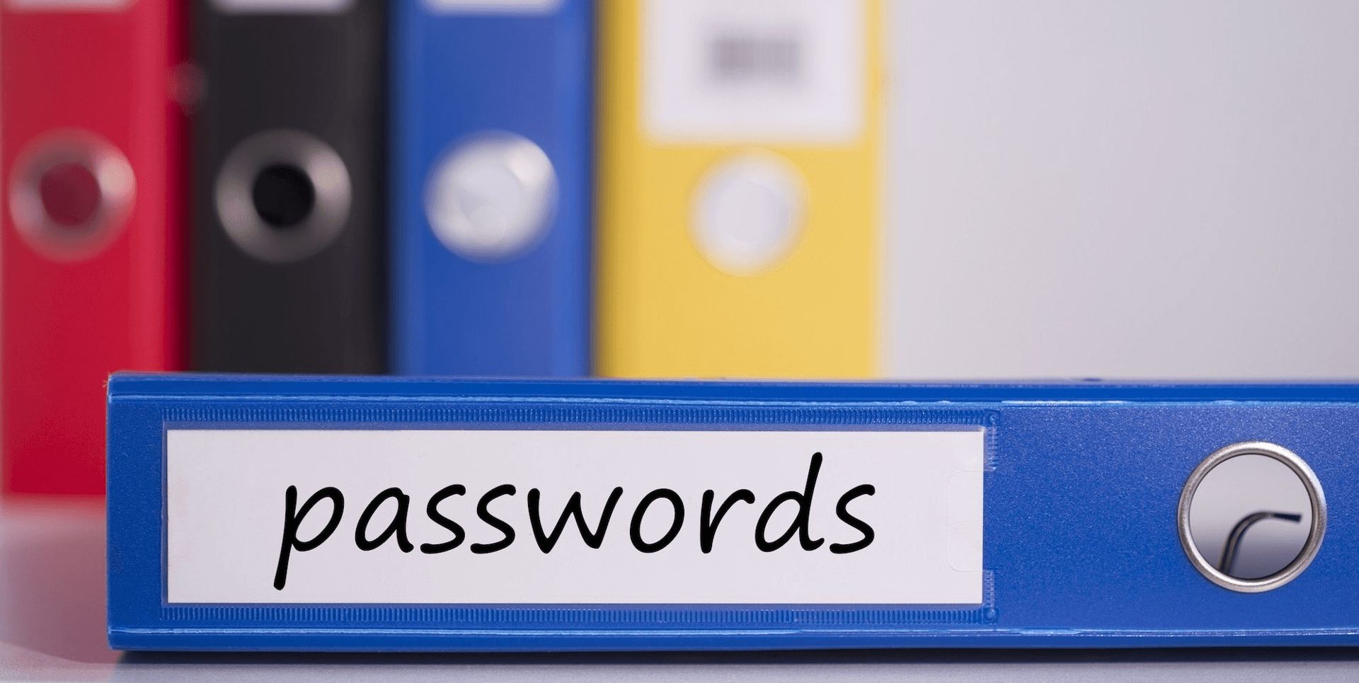 password binder notebook rx-1