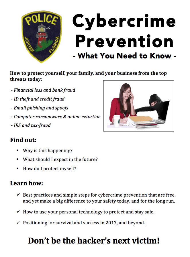 JPD Jupiter Police Dept Cybercrime prevention.png