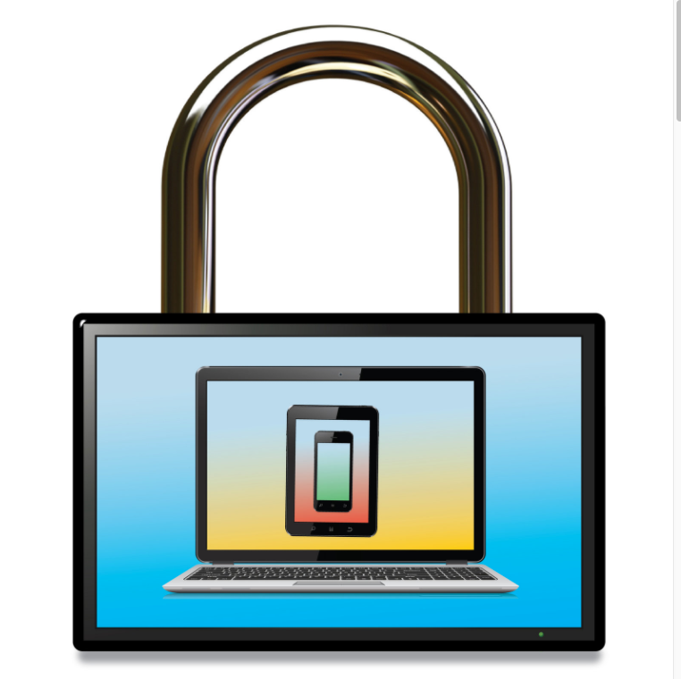 internet connected devices with lock for security.png
