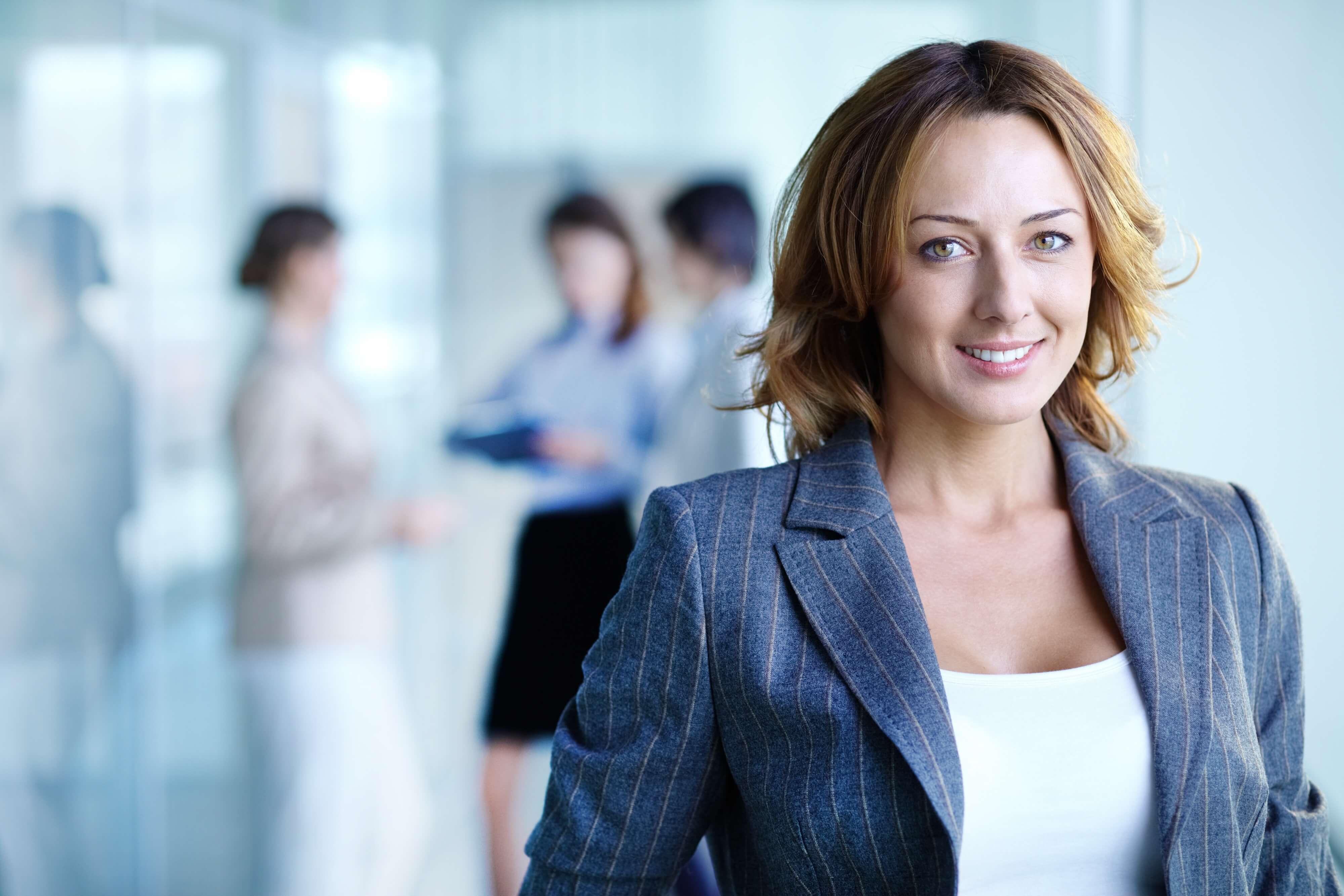 portrait business woman nonprofit cybersecurity