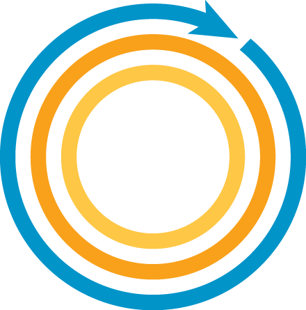 TDS Circle icon logo cyber secure for life