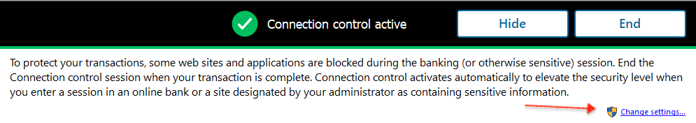 PSB F-Secure Device Protection -  Connection Control -1