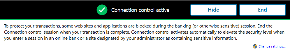 PSB F-Secure Device Protection -  Connection Control