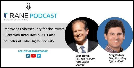 RANE podcast Brad Deflin Cybersecurity for the Private Client