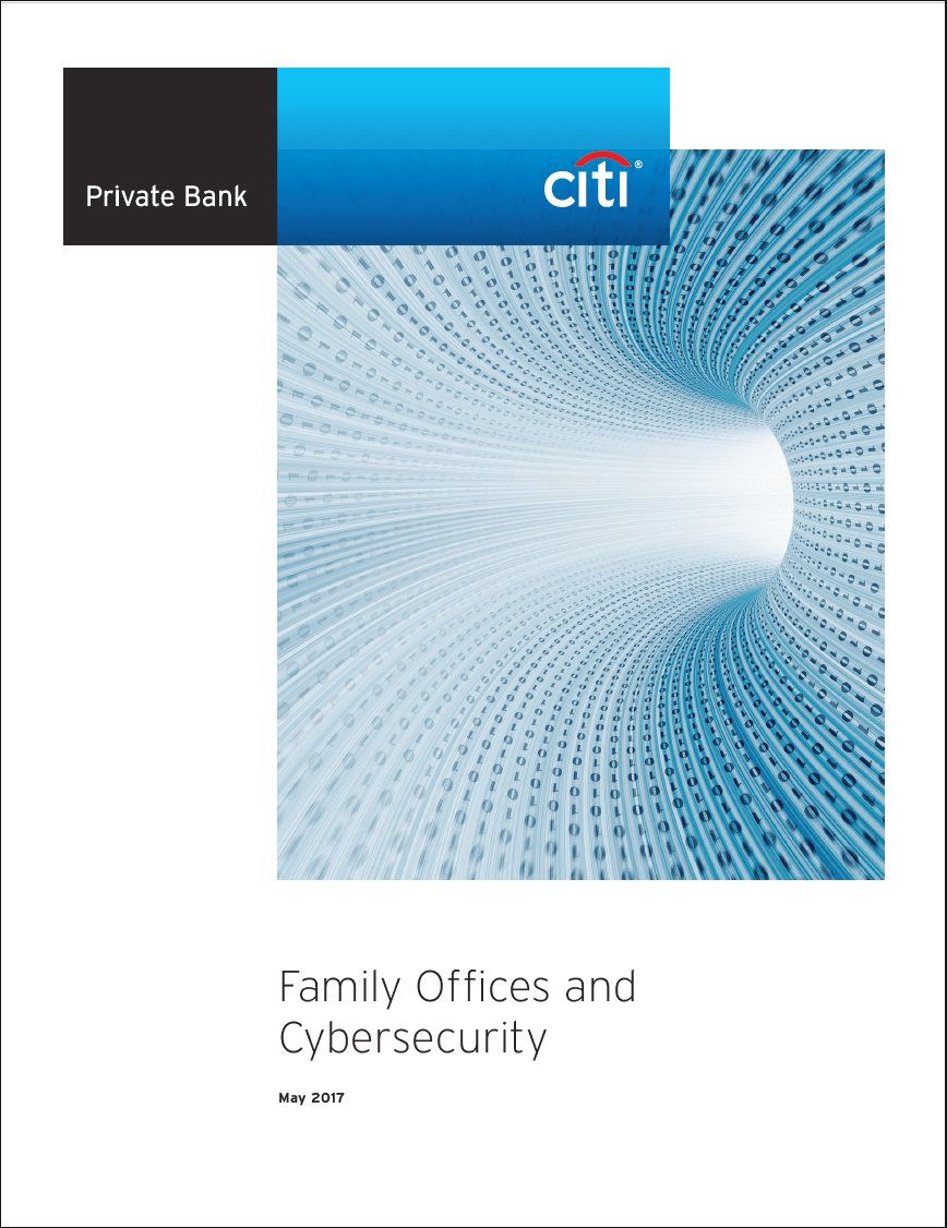 Family Office and Cybersecurity white paper Citi