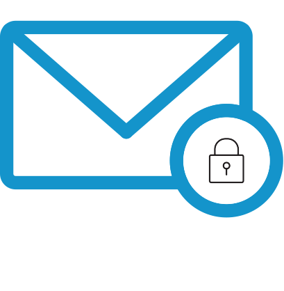 TDS brand icon- private email account