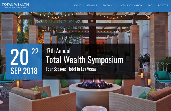 Total Welth Symposium home page 2018