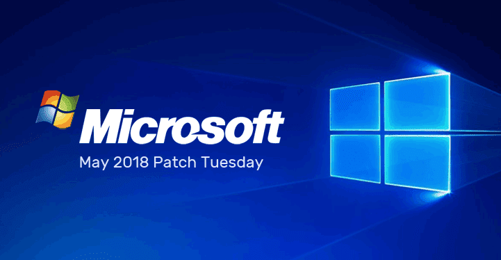 microsoft patch Tuesday logo 2018