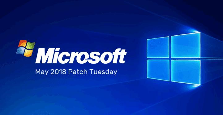 microsoft patch Tuesday logo 2018