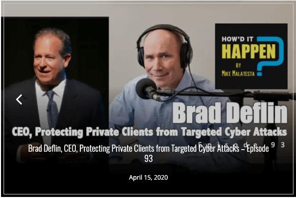podcast Brad Deflin Howd it Happen Malatesta