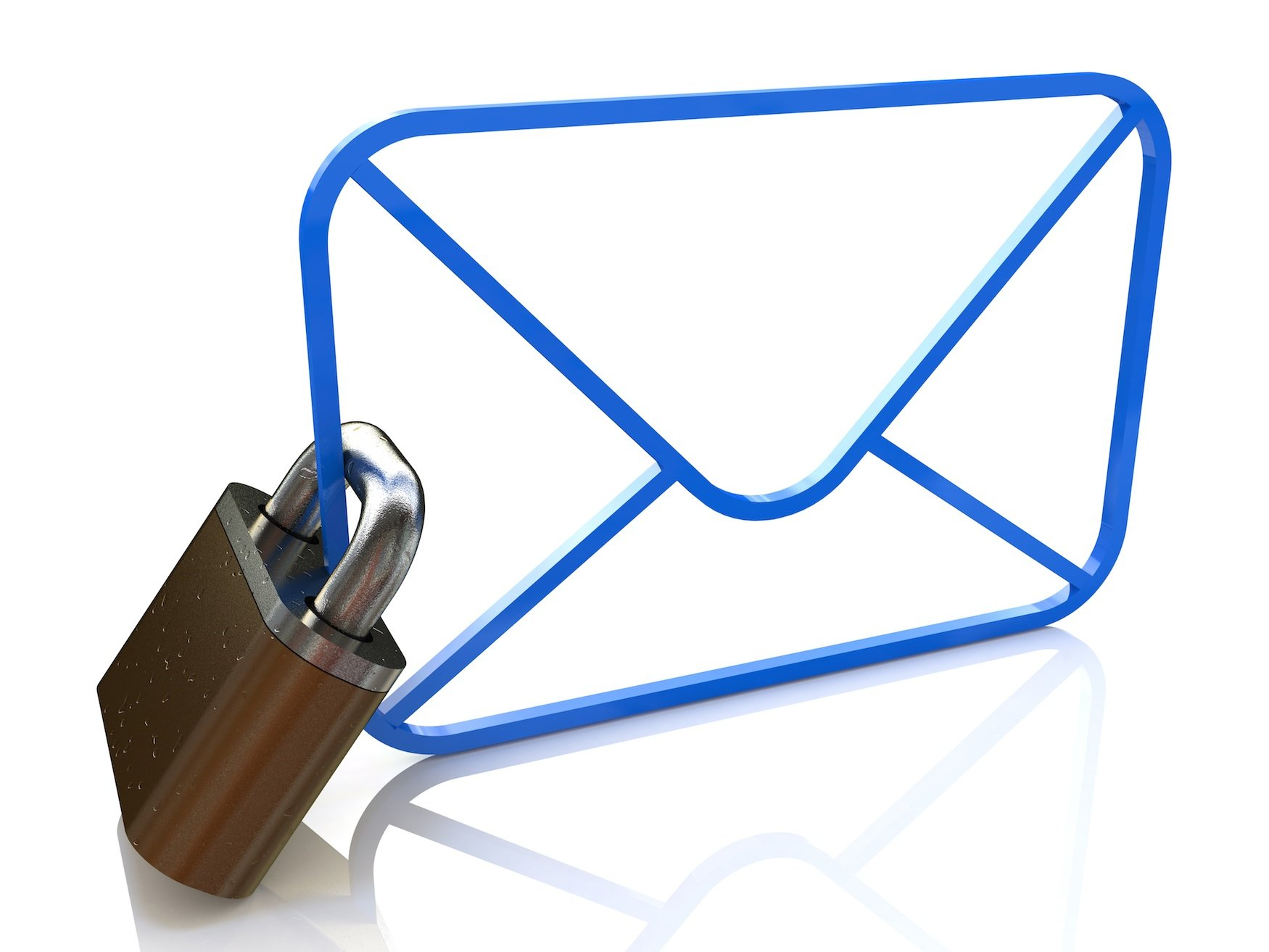 private email locked envelope