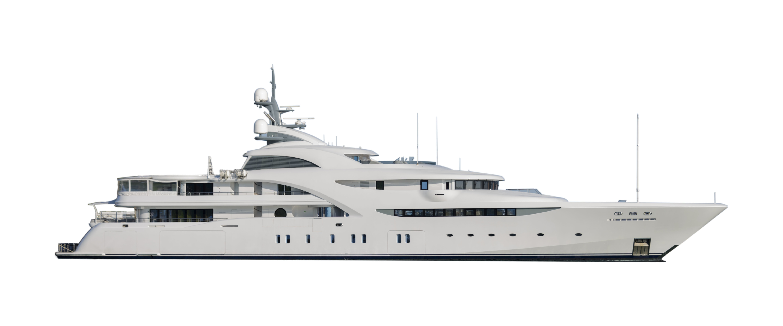 superyacht white