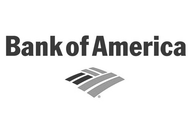 Bank of Amer logo bw