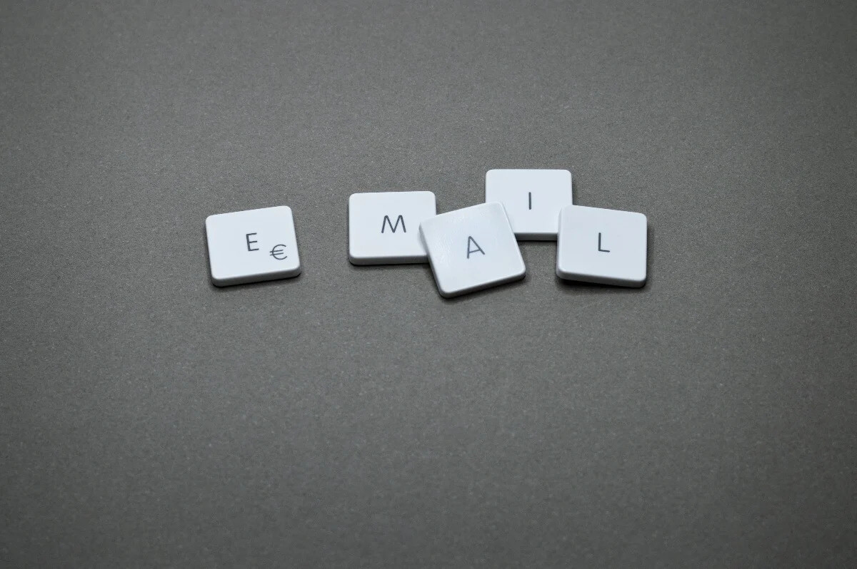 Email Scrabble Letter Blocks on Gray Surface-1