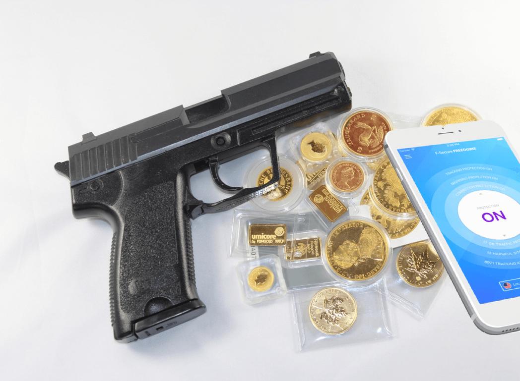 Guns, Gold, and VPNs.