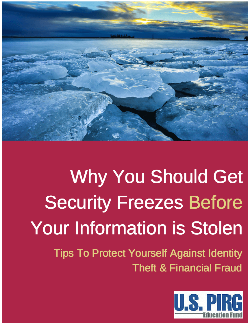 How to Freeze Your Credit Account