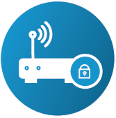 icon of managed network security
