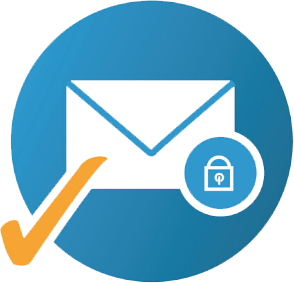icon of private email