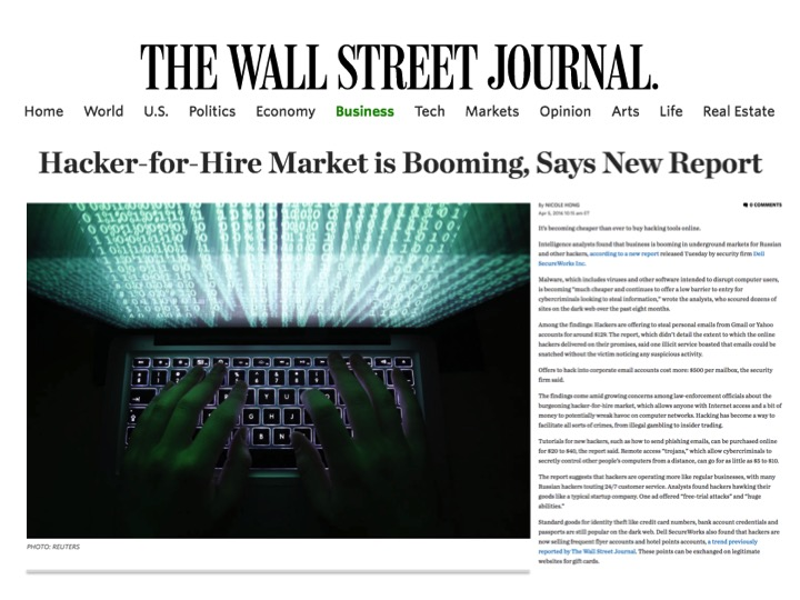 The Rise of the Hacker for Hire