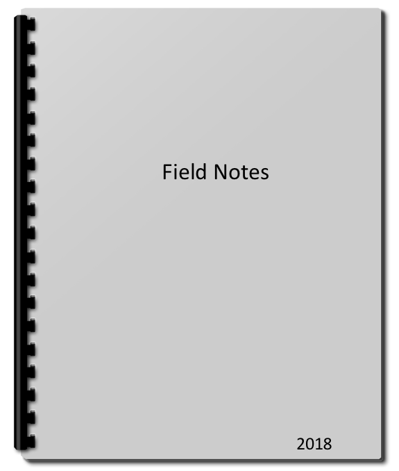 field notes spiral pad