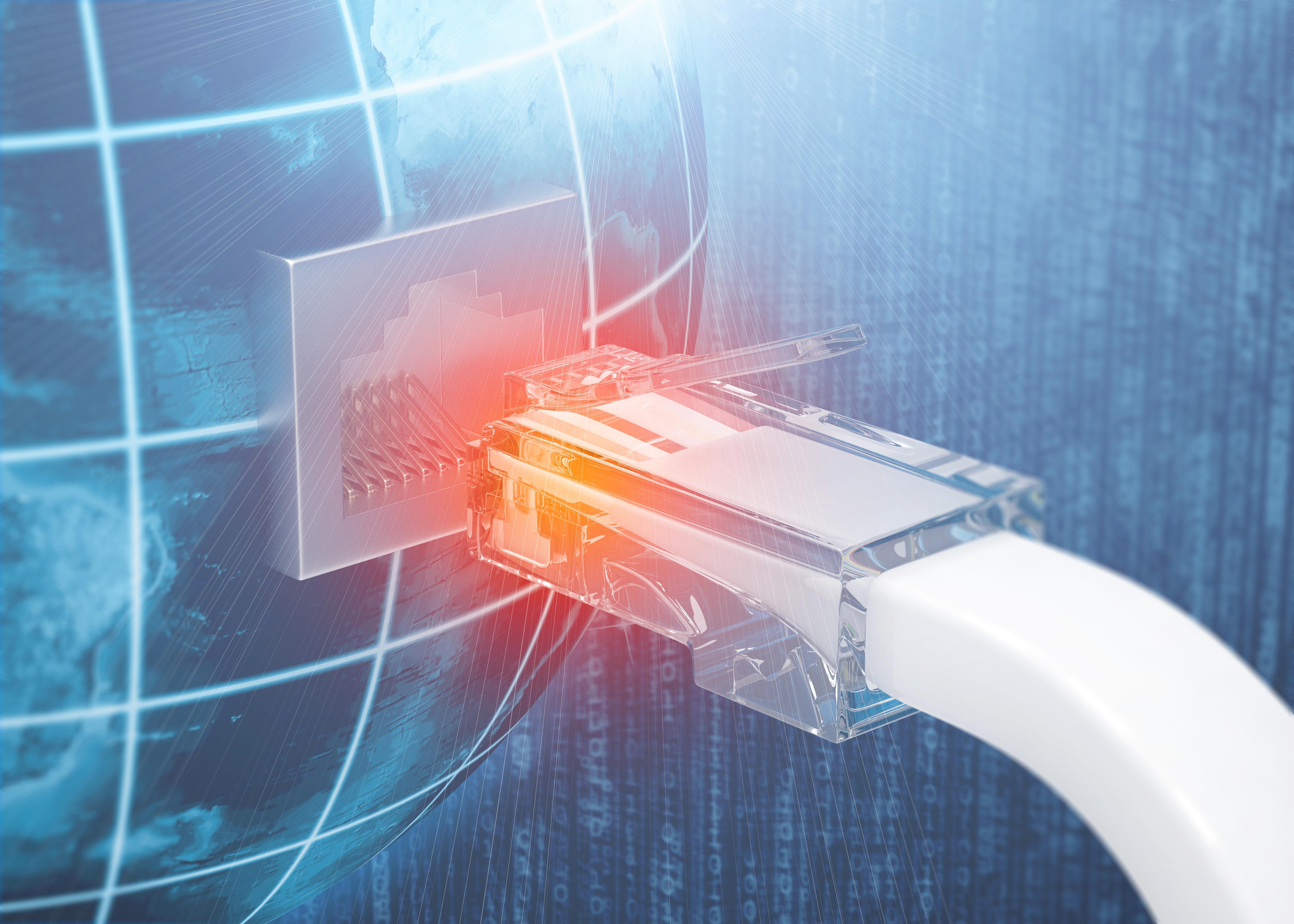 globe LAN router plug ethernet rx