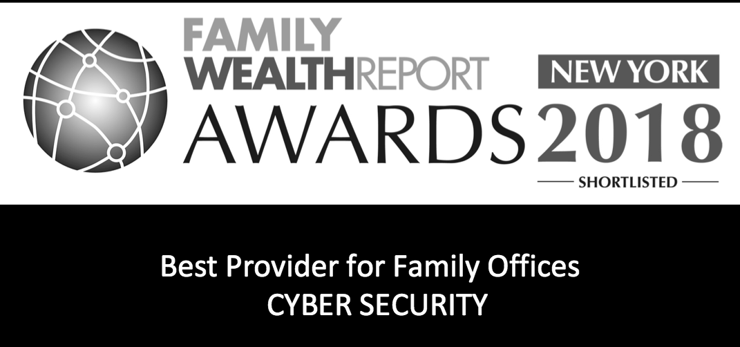 Family Wealth Report Best Provider Cyber Security logo