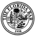 circle logo for the Florida bar